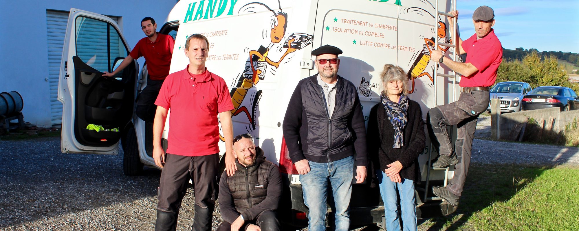 Equipe - Handy Germain - Traitement Termites - Pays Basque - Landes